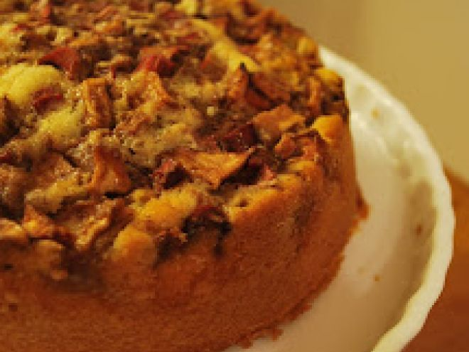 Receita Sobremesa : Bolo de ruibarbo (rhabarberkuchen) de MonicaHering