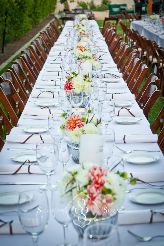 long table setup wedding reception%0A wedding details  table setting let u    s just put the color motif on