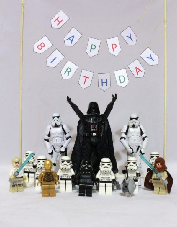 Best 25 Joyeux anniversaire star wars ideas – Lego Star Wars Birthday Cards