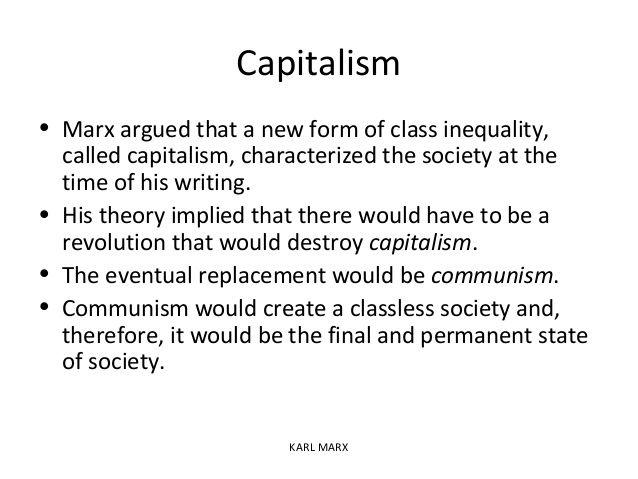 Karl Marx And Theory Karl Marx Sociology Theory