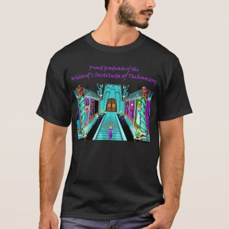 'Wizard Graduate' Quest for Glory II Shirt - click/tap to personalize and buy