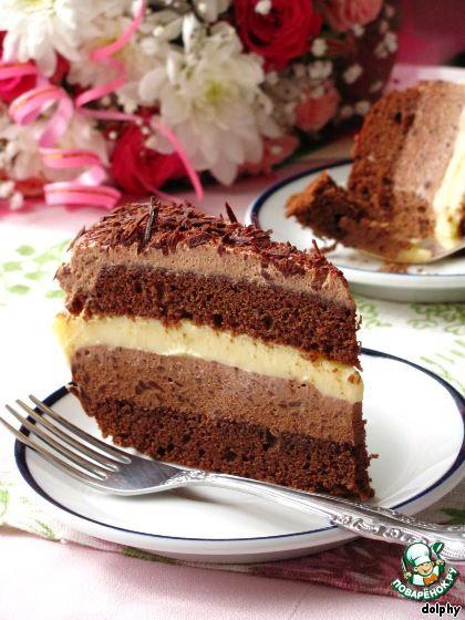 Шоколадно-лимонный торт ингредиенты