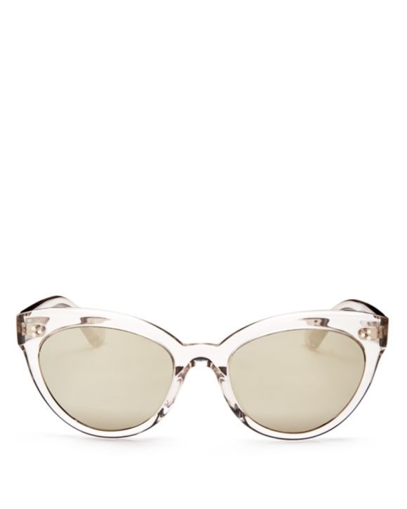 5294e9d4565 Oliver Peoples Roella Mirrored Cat Eye Sunglasses