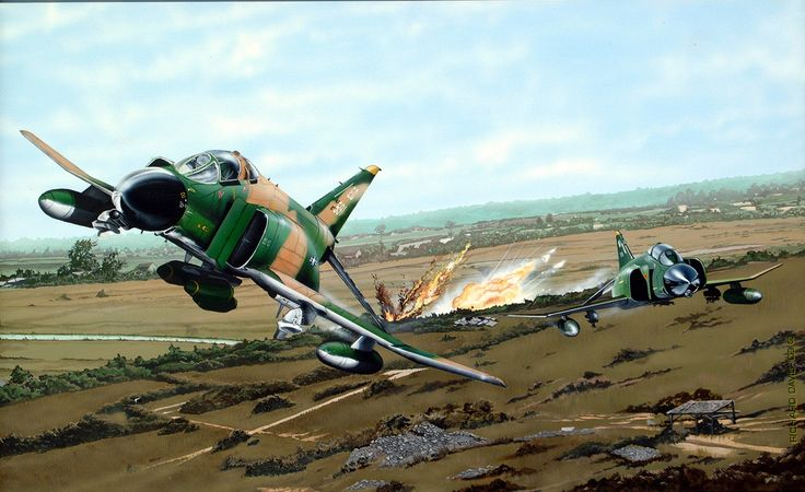 F-4 Phantom during the Vietnam War