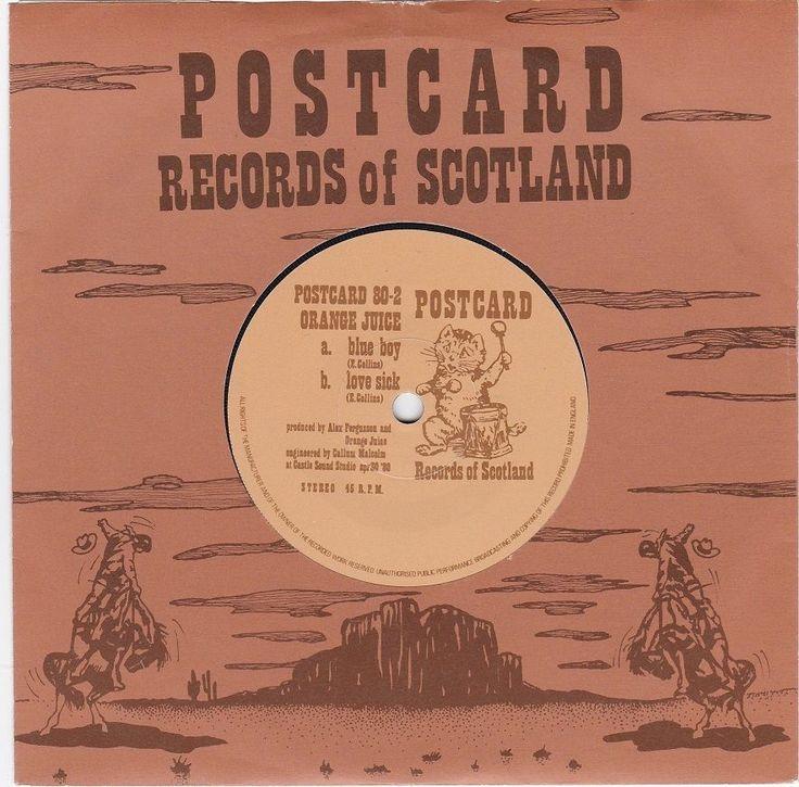 Orange Juice - Blue Boy, Postcard records, c.1980, Edwyn Collins, new wave, rare #vinyl