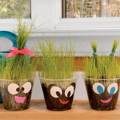 Härliga gräsgubbar!