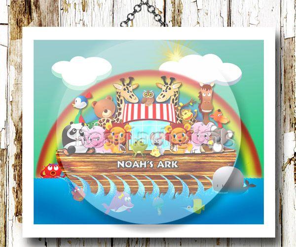 whimsical noahs ark
