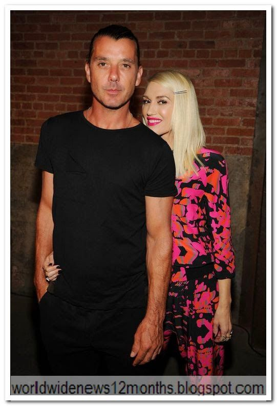 WORLD  WIDE  NEWS: Gwen Stefani and Gavin: Marriage quarrel because o...