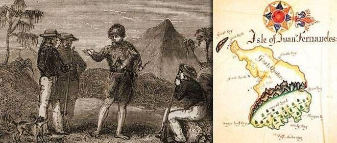 2 février 1709 ♦ Alexander Selkirk, le vrai Robinson Crusoé, est recueilli après 52 mois de solitude.