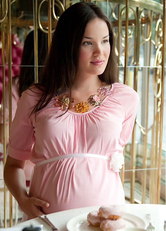 More Of Me   Pink Baby Shower Dress