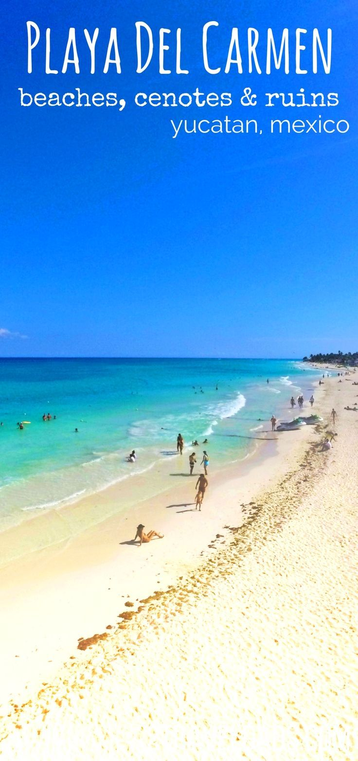 Mexico has lots of wonderful destinations, but Playa del Carmen is amazing for its beaches, wildlife, historical sites and wonders of nature. 2traveldads.com