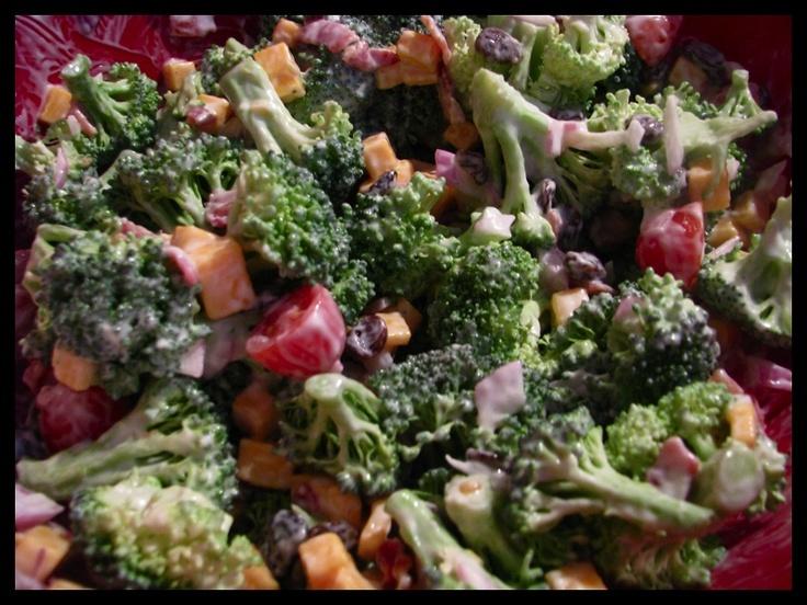 Broccoli Salad a la Paula Deen
