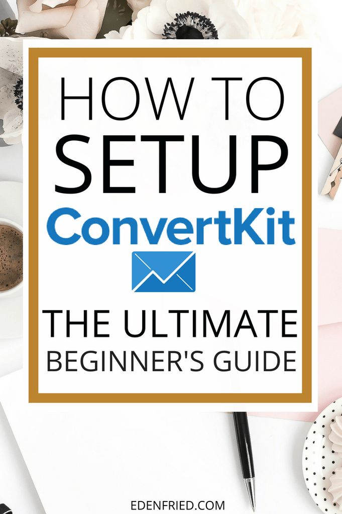 ConvertKit is my FAVORITE email service provider for bloggers. Want to learn how to setup ConvertKit for your blog? Get the full scoop right here.