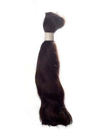 ARVENE DOUBLE DRAWN NON-REMY BULK HAIR Weight: 100g Fiber: 100% Non-Remy Human Hair Type: Bulk Set Contains: Double Drawn non-Remy Bulk  Color: Natural Black, Natural Brown