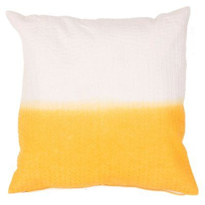 Jaipur Tribal Cotton Modern Decorative Pillow Golden Rod / Birch Polyester Fill - PLC101255_P