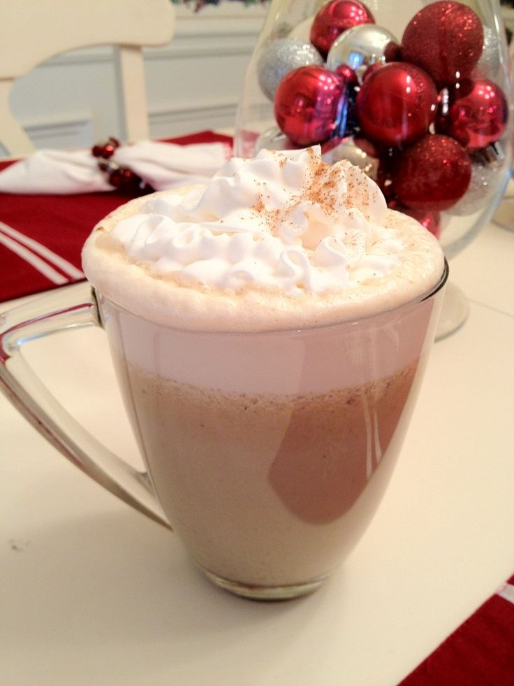 When you drink this skinny pumpkin pie latte, you will think you have gone to pumpkin pie heaven...with a lot less fat and calories!