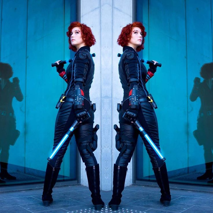 Question! Do you game? Pc or console? Im a pc gal. Honestly this is my favorite photo of my new suit. Itching to get back to widow crazyness.  Thank you so much to @staardustphotography  for this photo!!    #blackwidowcosplay #blackwidow #avengerscosplay #avengers #marvelcosplay #marvel #disney #disneycosplay #comic #comiccosplay #natasharomanoffcosplay #natasharomanoff #redhairgirl #cacw #costest #cosplay #costume #cosplay #redhead #redhair #redheadsofinstagram #clintasha #photography…