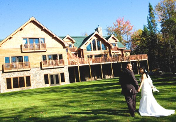 Destination Weddings Blueberry Lake Resort in Canada