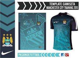 Diseños, Vectores y Templates para Camisetas de Futbol: MANCHESTER CITY TRAINING 2016