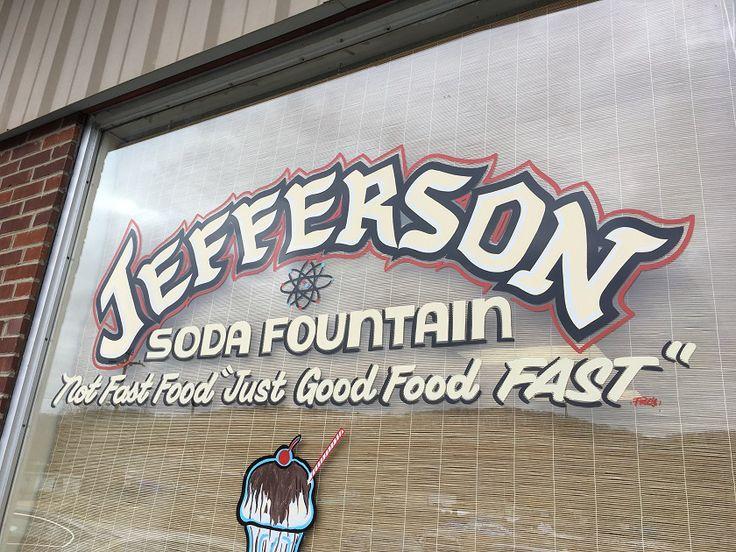 Jefferson Soda Fountain, Oak Ridge TN – Marie, Let's Eat!