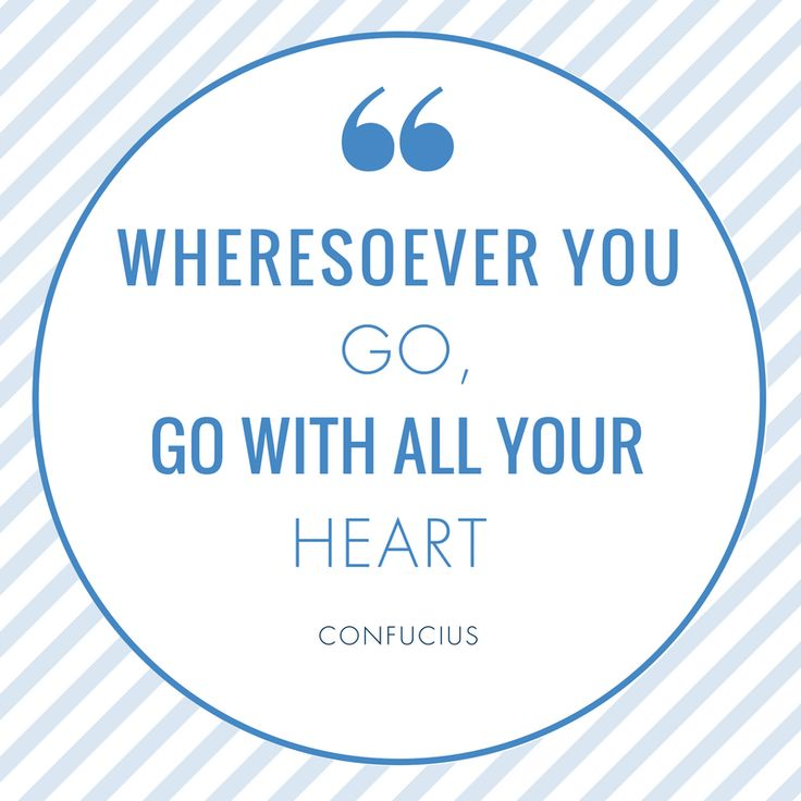 It doesn't matter where life will lead you. What matters most is you gave your heart in what you do.