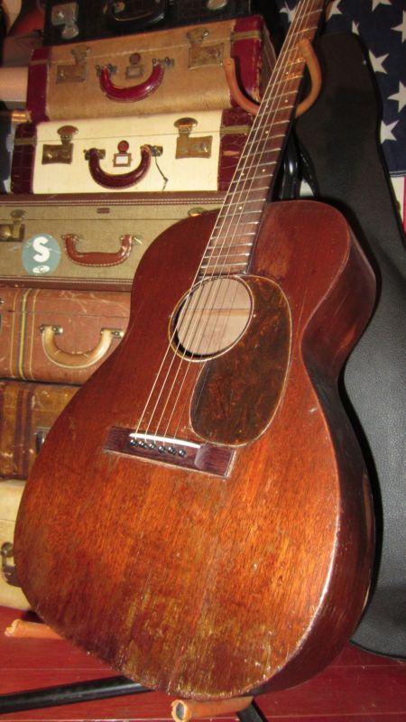 Vintage 1935 Martin 00-17 Acoustic Guitar Plays