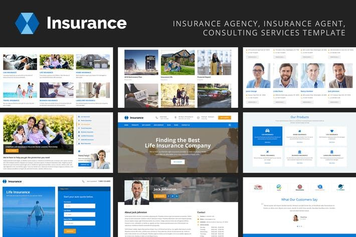 Insurance Insurance Agency Consulting Services By Authemes On