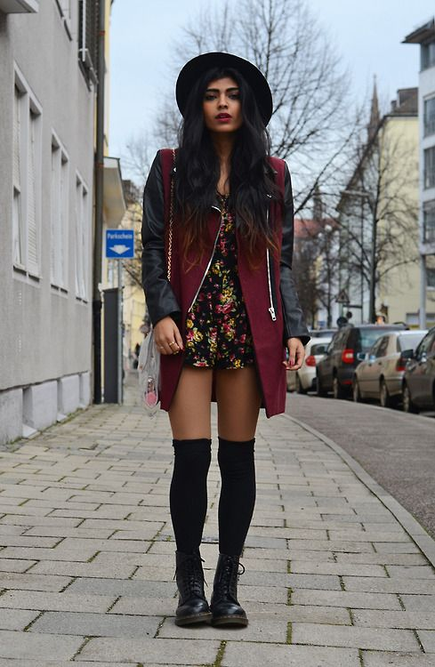 40 best images about clothes on pinterest blazers thigh - Look hipster femme ...