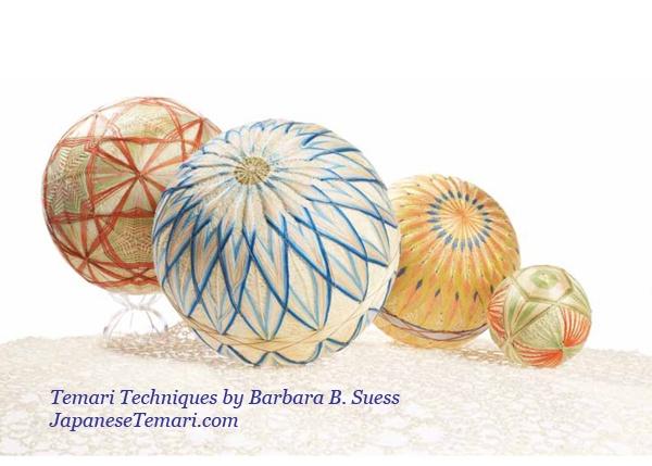 Japanese Temari: Sunflowers Class Schedule and Book Update