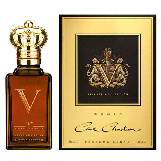 Купить Clive Christian V Women за 10990 руб #CliveChristianWomen #духи #парфюм #парфюмерия Аристократка в бархатном платье с ниткой жемчуга. Вековой образ с налетом винтажности чрезвычайно актуален в наши дни. Мистический аромат духов Clive Christian V for Women (Клайв Кристиан Ви для женщин) – о�