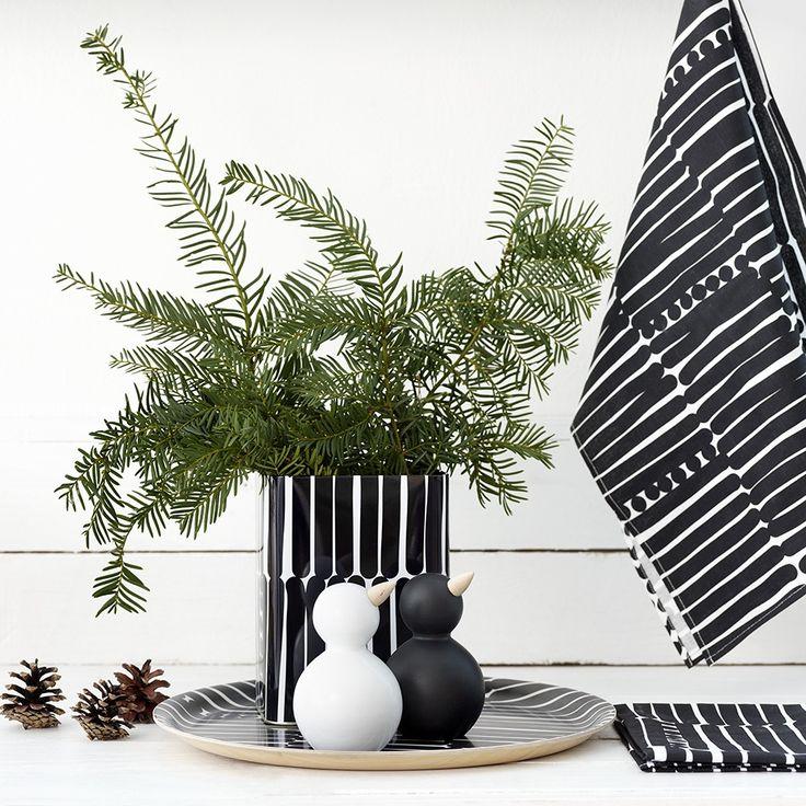 Aarikka - Kattaus ja keittiö : Palko-purkki