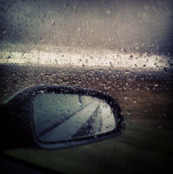#rain #sky #car