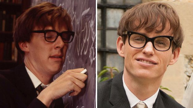 Eddie Redmayne says he decided not to watch Benedict Cumberbatch's 2004 portrayal of Stephen Hawking while he was making his own film about the famous physicist.