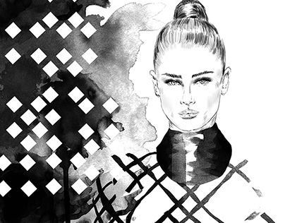"""Check out new work on my @Behance portfolio: """"PARIS FASHION WEEK"""" http://on.be.net/1OpJjr6"""