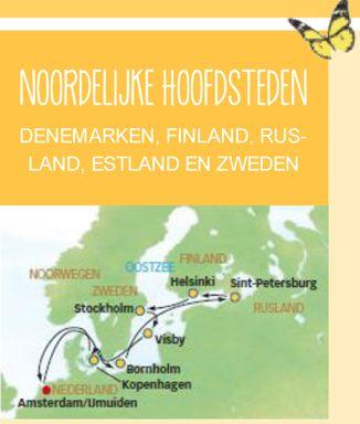 LAST MINUTE cruise vanaf Amsterdam naar Noord Europa. 13 dagen vanaf €895 p.p. Vertrek in augustus. OP=OP Voor meer informatie bel 06 464 87 871 of ga naar http://bit.ly/PTTJenniferHunte voor meer aanbiedingen.