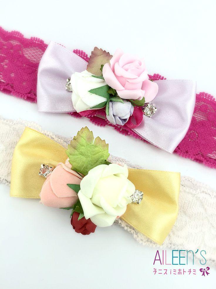 Royal Spring Beauty baby headband
