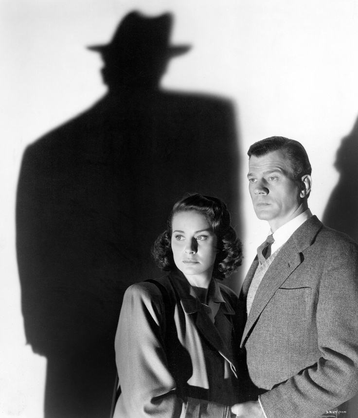 "The Shadow of Harry Lime - Joseph Cotten, with Alida Valli - ""The Third Man"" - 1949"