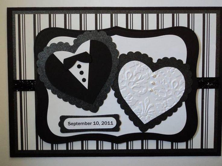 love this wedding card idea