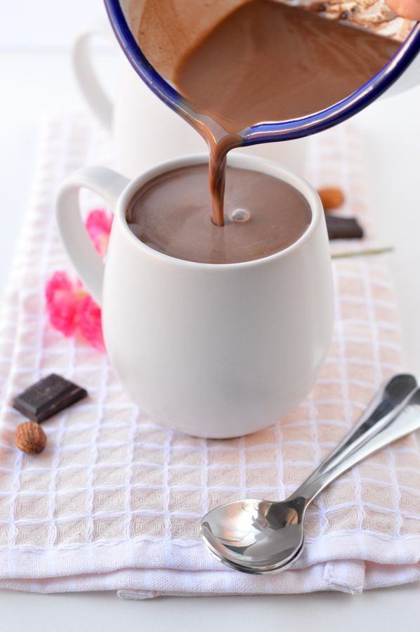 Low Carb Hot Chocolate With Almond Milk And Unsweetened Cocoa Powder 100 Keto Sugar Free Vegan Sugar Free Drinks Healthy Hot Chocolate Sugar Free Vegan