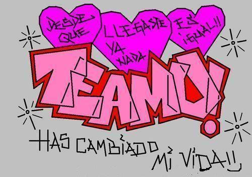 88957444 Rcffnpldyboddox Jpg 500 352 Graffitis De Amor Te Amo