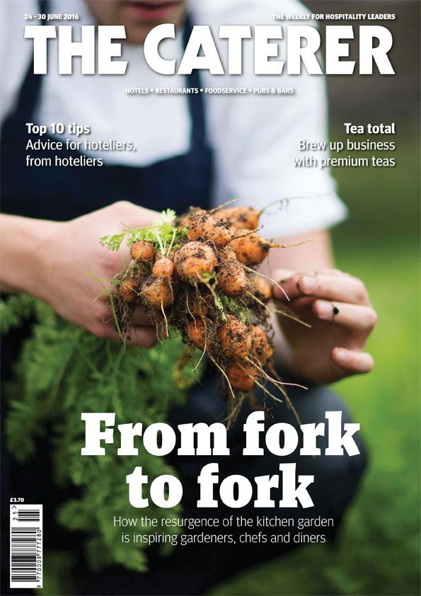In this week's issue... From Fork to Fork. How the resurgence of the kitchen garden is inspiring gardeners, chefs and diners. To subscribe got to www.thecaterer.com/subscribe