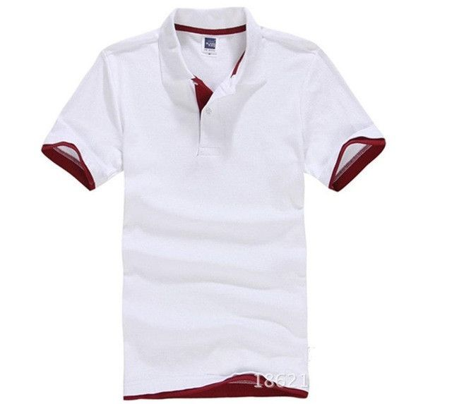 New 2016 Men's Brand Polo Shirt Polos Men Short Sleeve