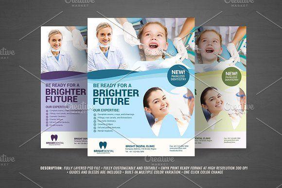 16 Best Dental Brossura Images On Pinterest Brochures Flyer