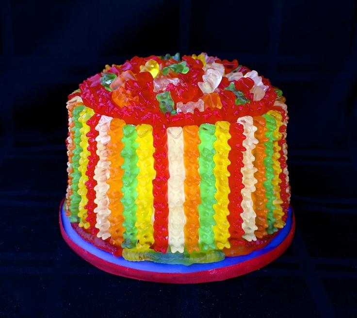 Gummy Bear Cake/Candy Cake Wwwcuteologyshopcom