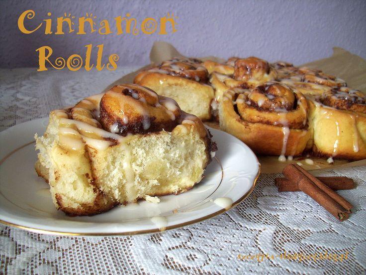 Cinnamon Rolls – bułeczki z cynamonem i jogurtowym lukrem PRZEPIS