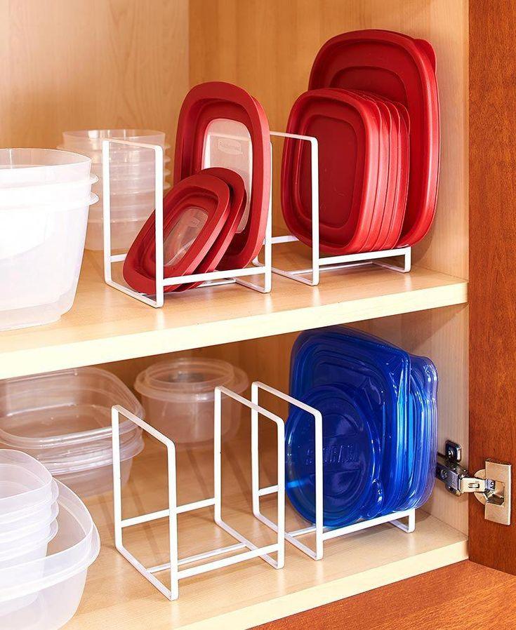 white small kitchenorganizers in 2020 with images tupperware storage lid organizer on kitchen organization tupperware id=43275