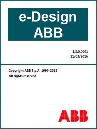 e-Design ABB -- software de diseño de instalaciones eléctricas.   Ingeniería Eléctrica, en Electricidad. --> http://e-design.software.informer.com/1.3/