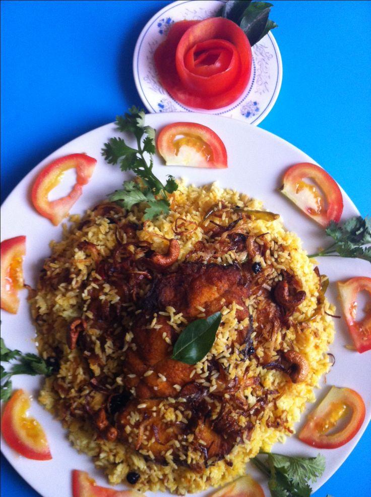 Fish Biriyani Recipe - Kerala Style Fish Biriyani Recipe - മീൻ ബിരിയാണി  #Fish #Biriyani #Recipe #Kerala