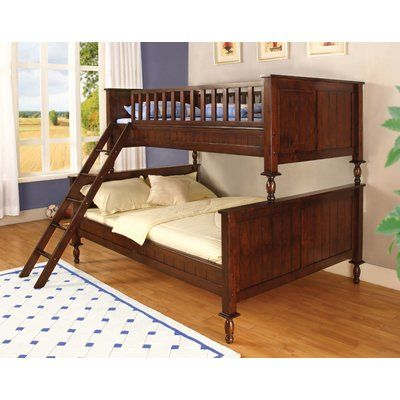 Milton Twin over Full Futon Bunk Bed - http://delanico.com/futons/milton-twin-over-full-futon-bunk-bed-725486758/