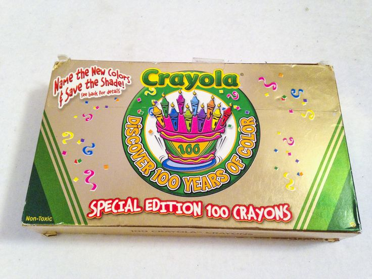 happy birthday crayola  100 years  can u0026 39 t wait to see what the next 100 bring  100 crayola